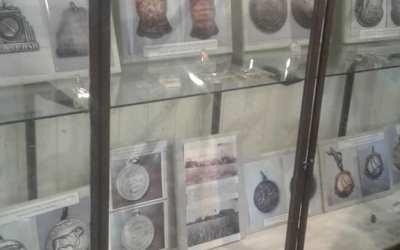 Muestra de medallas en el Museo