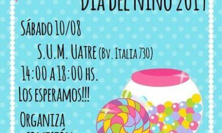 Festejo Día del Niño organizado por la UATRE