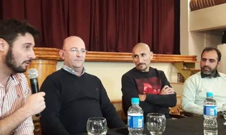 Conferencia de prensa «Partido Homenaje Cholo Eterno»