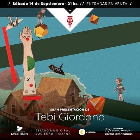 Tebi Giordano se presenta mañana en el TMSI