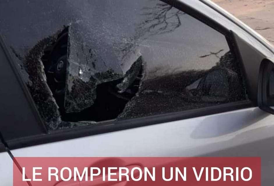 CABRERA: LE ROMPIERON EL VIDRIO DE SU AUTO EN EL CEMENTERIO DE CABRERA PARA SUSTRAERLE UNA MOCHILA