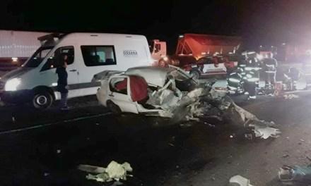 Sampacho: Accidente fatal