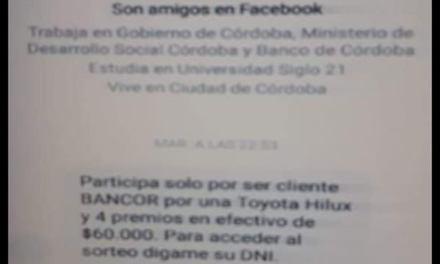 VECINO DE DEHEZA, ESTAFADO POR 100 MIL PESOS
