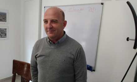 El Intendente Marcos Carasso retoma de a poco sus actividades luego del accidente sufrido la semana pasada