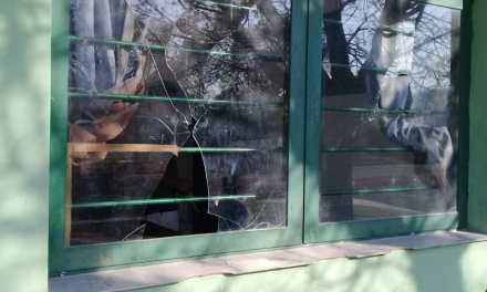 VANDALISMO- Otra vez el SUM de Barrio Argentino