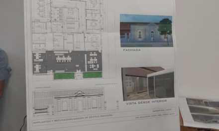 Se presentó la nueva fachada de la Municipalidad