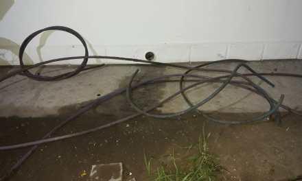 Quisieron robar cables en la OLCA