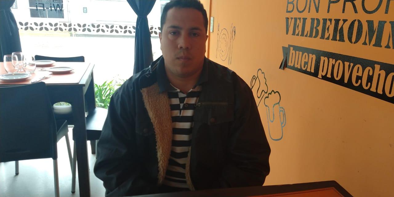 Joven en situación de calle llegó a Cabrera en busca de trabajo