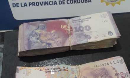 Policía recuperó dinero robado