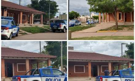 Allanamiento en un domicilio en calle 12 de octubre y Bv. España