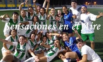 Fútbol Femenino- Agustina Lamborizzio en la Final con Universidad en la Liga de Desarrollo de Fútbol Femenino en San Luis San Luis