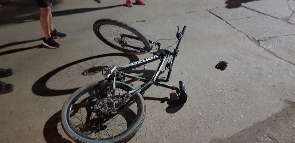 ACCIDENTE ENTRE UNA MOTO Y UNA BICICLETA, UNA PERSONA FUE TRASLADADA A RÍO 4