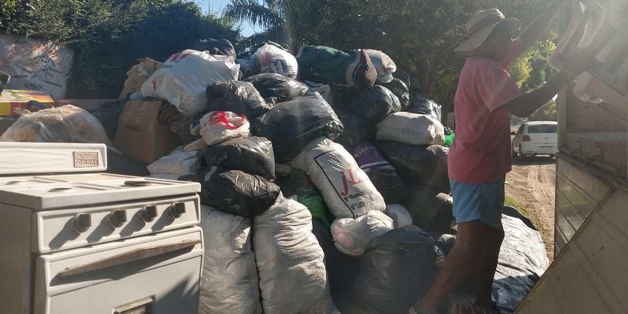 Después de una larga espera Cabrera Solidaria envió un cargamento solidario al norte