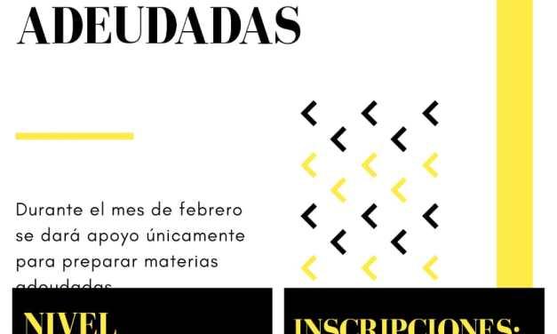 Apoyo escolar en el SUM de B° Argentino, para quienes adeuden materias