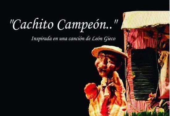 «Verano en tu ciudad» – Cachito campeón se presenta el sábado en la plaza