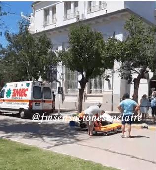 Accidente en solitario en la vía pública