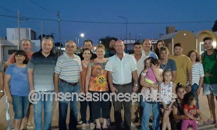 Casi el 50 % de la población tiene luces led dijo el Intendente Carasso