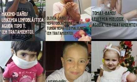 Junta de firmas por ley Oncopediátrica