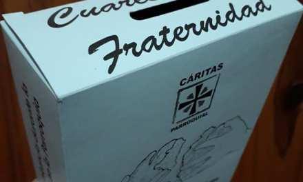 Cáritas Parroquial propone alcancías para ofrendas en tiempos de cuaresma