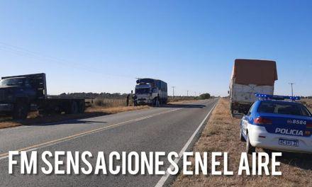 Un cabrerense se accidentó en ruta E-90