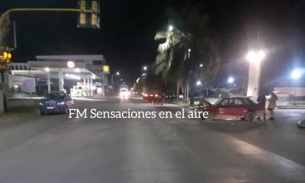 Cabrera- colisionaron un auto con un camión