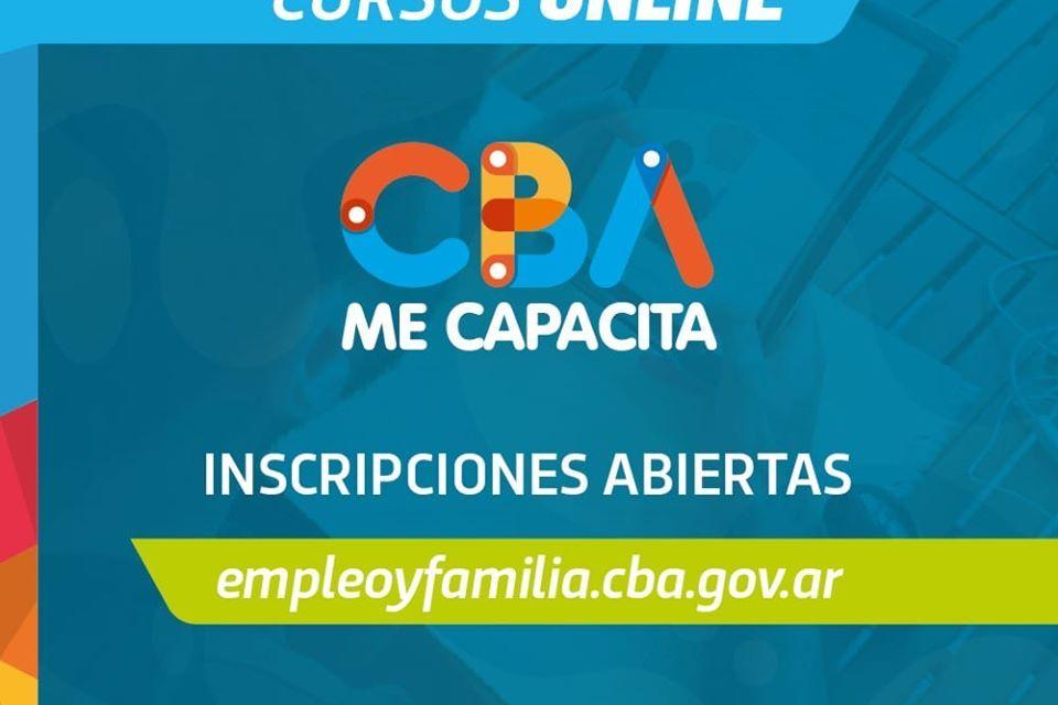 La provincia lanzó el Programa «CBA ME CAPACITA» con cursos Online