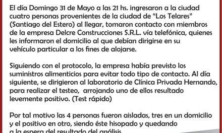 HERNANDO- Posible caso de COVID 19