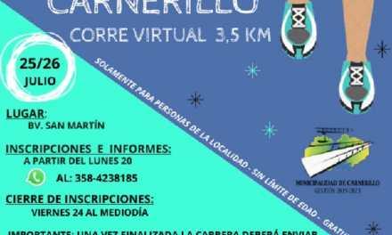 «Carnerillo – Corre virtual – 3.5 KM»