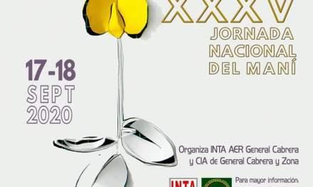 17 y 18 de Septiembre se realiza la XXXV Jornada Nacional del Maní