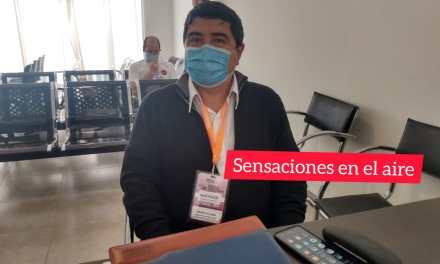 Posible flexibilizaciones: Ricardo Alvarez del COE Provincia se reúne con el COE local