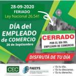 Se viene el Festejo Virtual por el Día del Empleado de Comercio