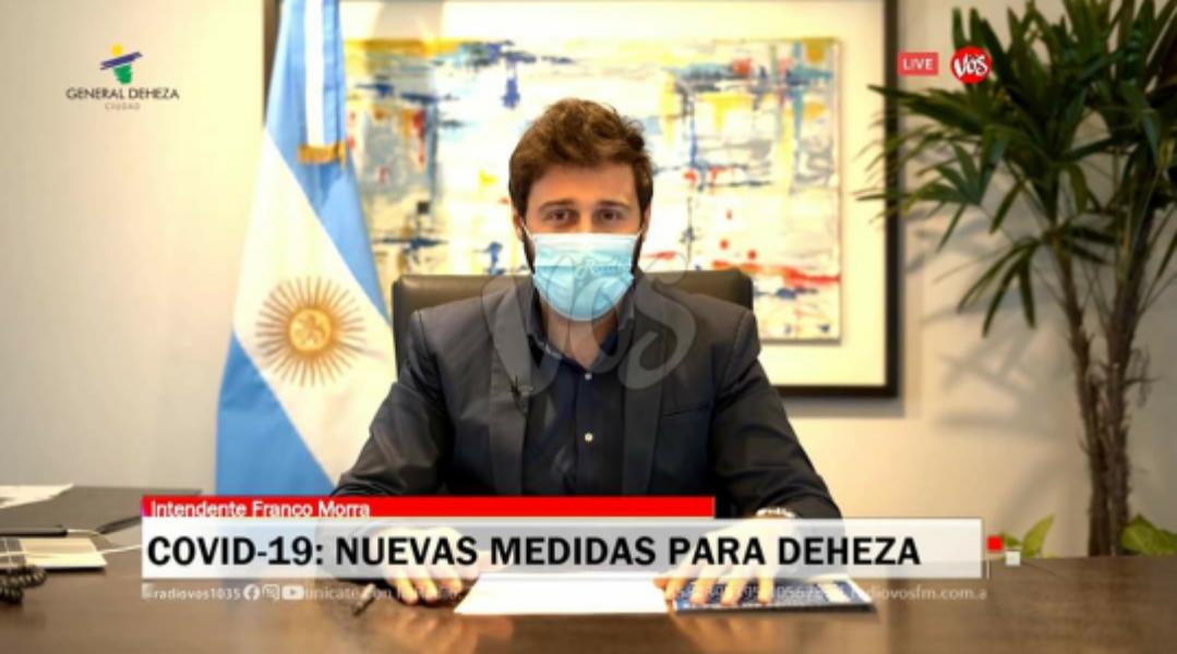 DEHEZA: Nuevas medidas anunciadas por el Intendente Morra