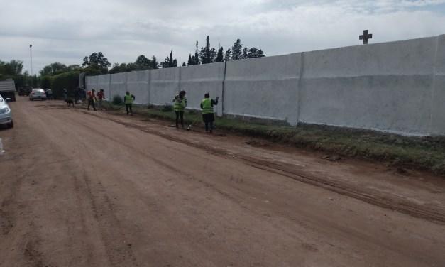 Hoy inauguran remodelaciones en el Cementerio local