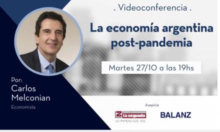 Videoconferencia con el Economista Carlos Melconián