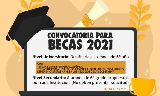 Cotagro-convocatoria para becas 2021