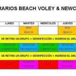 Habilitaron las prácticas del Beach voley y Newcom