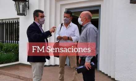 El Intendente Carasso se reunió con el OIBCA en Gral. Deheza junto al Intendente Morra