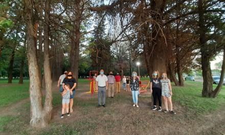 Quedó inaugurada la plaza de la salud en parque centenario