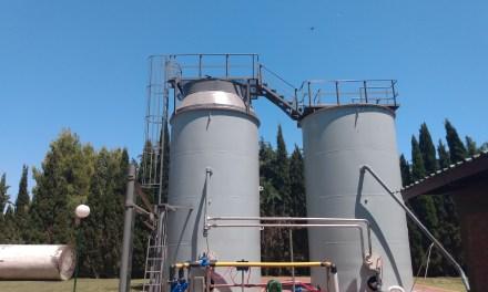 Carnerillo – Coopelcar hoy reactivaron la planta cloacal