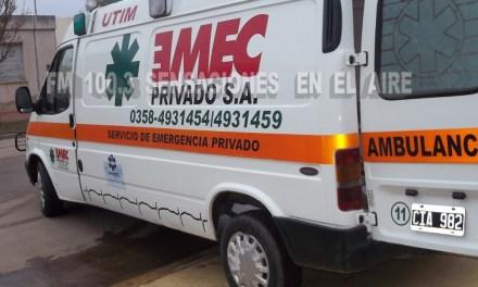 Dos jóvenes que cayeron de un caballo fueron trasladadas a Río Cuarto