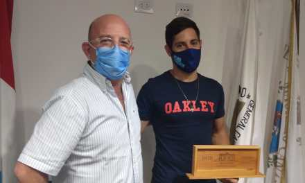 El Intendente recibió a Nico Cavigliasso