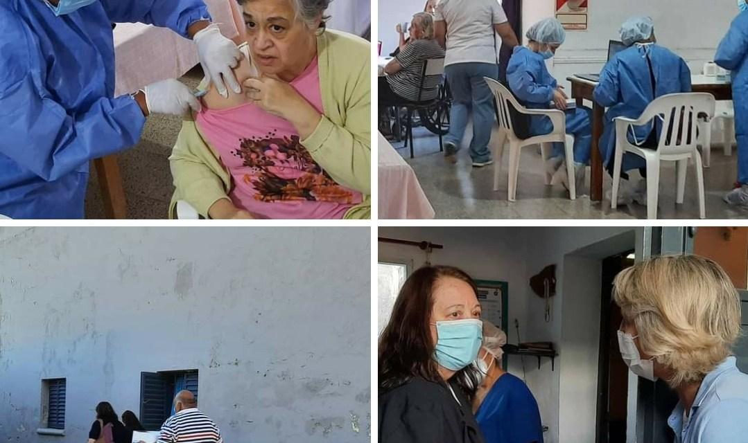 Vacunaron con Sputnik V a residentes de Geriátricos