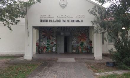 Fray P. Bentivoglio – Retoman actividad para reacondicionar la escuela