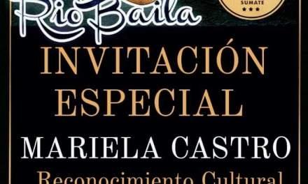 Reconocimiento Cultural para Mariela Castro