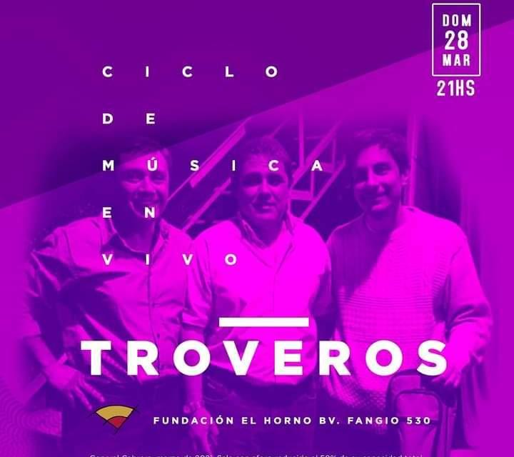 Troveros se presenta este domingo en Fundación el Horno
