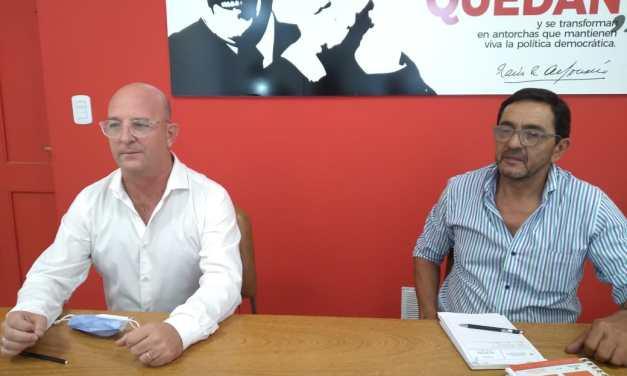 Carasso cierra campaña como candidato a presidente de la UCR Provincial