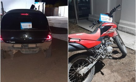 Cabrera: Colisionaron un auto y una moto, un lesionado