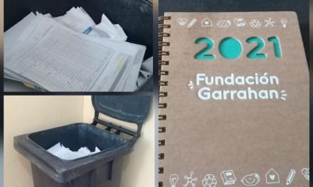 Tapitas y papel nos sumamos al cambio junto a la Escuela Emilio F Olmos