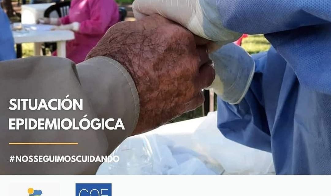 Cabrera: 7 hospitalizados, 55 casos activos
