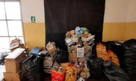 Día Mundial del Reciclado. Escuela Olmos Proyecto solidario, ecológico y educativo